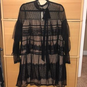 Women's Boho Lace Dress